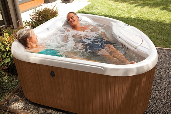 It's obvious that big hot tubs cost more to manufacture than small hot tubs. There is more material, more labor and therefore more cost.